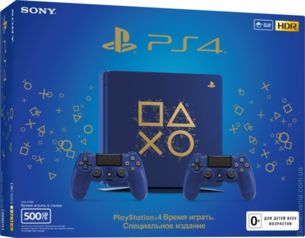 Sony PlayStation 4 Slim (500GB) Days of Play