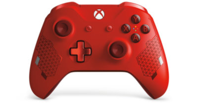 Xbox One Wireless Controller Sport Red