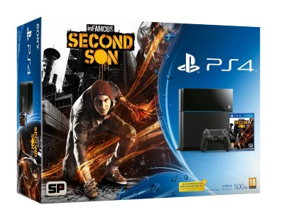 Playstation 4 + Second Son