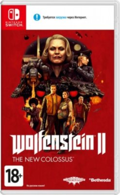 Wolfenstein II The New Colossus (Switch)