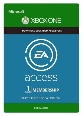 EA access xbox one (1 месяц)