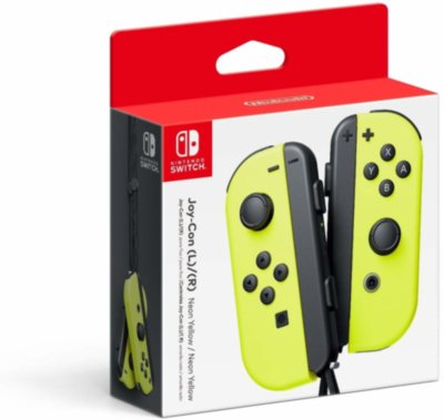 Nintendo Switch Joy-Con (neon yellow)