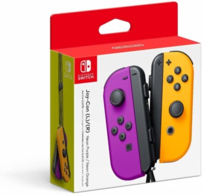 Nintendo Switch Joy-Con (purple/orange)