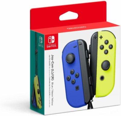 Nintendo Switch Joy-Con (blue/yellow)