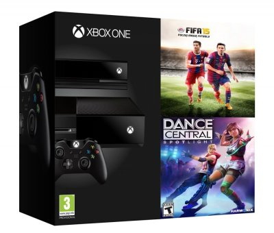 Xbox One bundle FIFA 15 + Dance Central Spotlight
