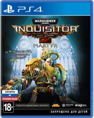 Warhammer 40,000 Inquisitor – Martyr (PS4)