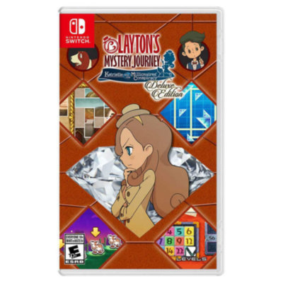 Layton's Mystery Journey: Katrielle and the Millionaires' Conspiracy Deluxe Edition (Nintendo Switch)
