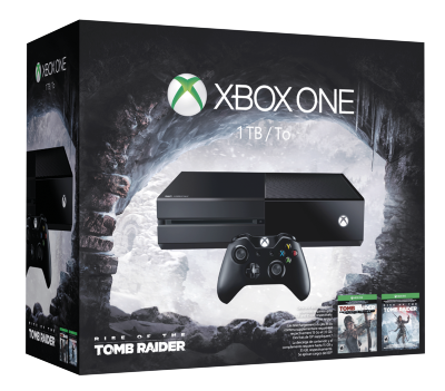 Xbox One 1tb Tomb Raider bundle