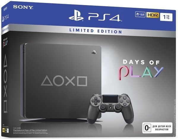 SONY PlayStation 4 1Tb Days of Play