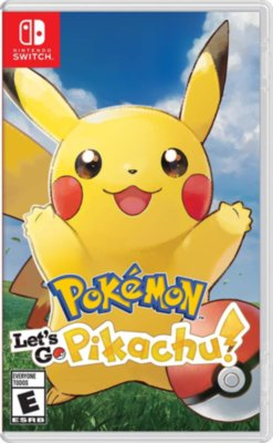 Pokemon: Let's Go: Pikachu! (Switch)