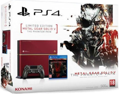 PlayStation 4 500Gb Metal Gear Solid: The Phantom Pain Limited Edition