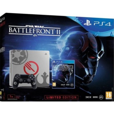 Sony PlayStation 4 Slim 1TB + Star Wars Battlefront 2 Limited Edition