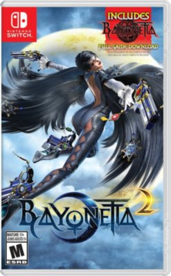 Bayonetta 2 + DCC Bayonetta 1 (Switch)