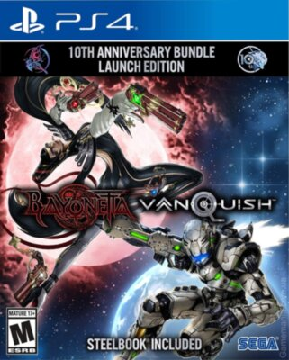 Bayonetta & Vanquish 10th Anniversary Bundle Launch Edition (PS4)