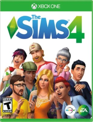 The Sims 4 Deluxe Edition (Xbox One)