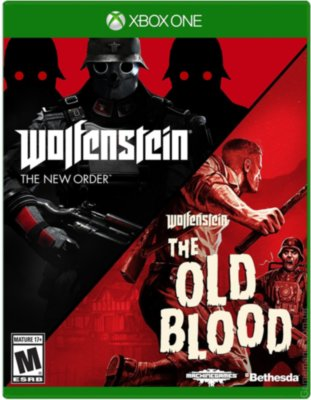 Wolfenstein New Order\Old Blood 2в1 (Xbox One)