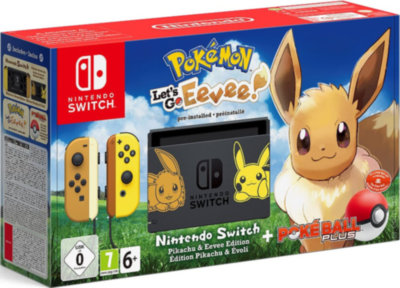 Nintendo Switch + Pokemon: Let's Go, Eevee!
