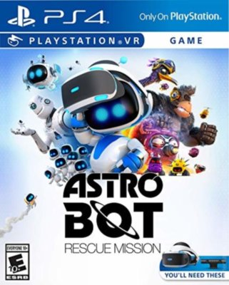 Astro Bot Rescue Mission VR (PS4)