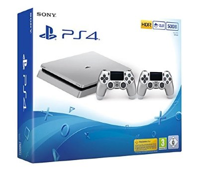 Playstation 4 Slim Silver (500 GB) + Dualshock 4 Silver