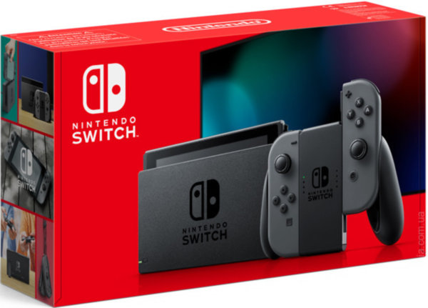 NINTENDO SWITCH V2 (Grey)