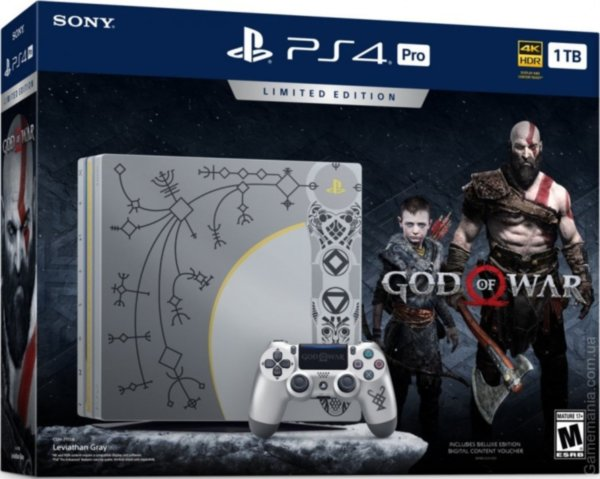Sony PlayStation 4 Pro (1 TB) God of War Limited Edition