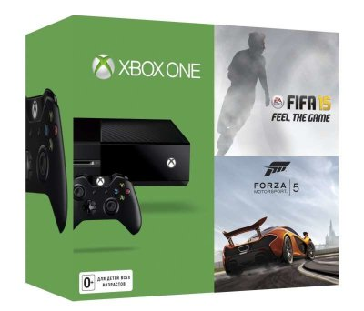 Xbox One bundle (Fifa 15 + Forza)
