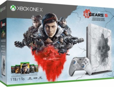 Xbox One X 1TB Gears 5 Limited Edition Bundle